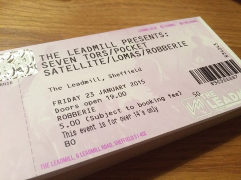 Get your tickets for The Leadmill show from Val, Nik or Robin!