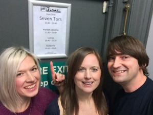 Backstage at the Leadmill