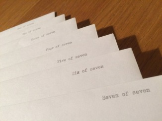 Seven hills droplifting envelopes