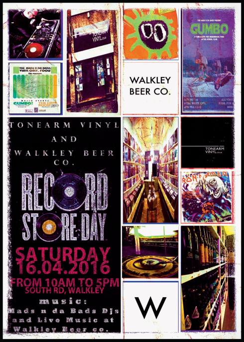 Tonearm Vinyl's Record Store Day at Walkley Beer Co.