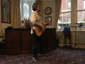 MJ Hibbett playing his FAB new album