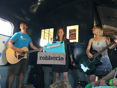Robberie at Indietracks 2016