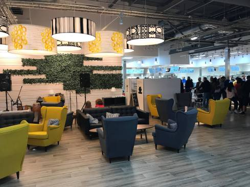 Ikea Sheffield food court